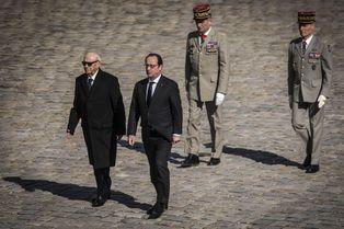 Accueil royal pour le président tunisien