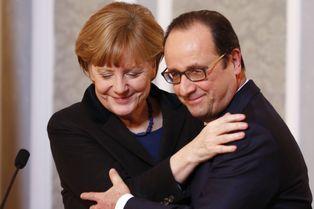 Saint-Valentin anticipée pour le couple franco-allemand