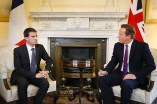 Manuel Valls, offensive de charme à Londres