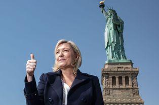 Marine Le Pen en toute liberté