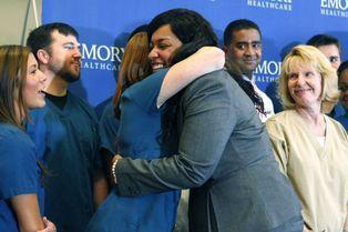 La gratitude d'Amber Vinson, rescapée d'Ebola