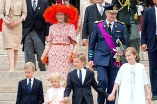 Mathilde & Philippe, Te Deum en famille pour la fête nationale