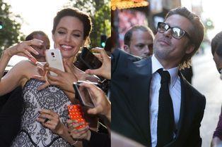 Brad et Angie, rois des selfies en Australie