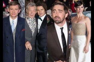 Le casting du Hobbit à la conquête de Londres