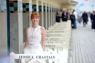 Jessica Chastain, l'ange de Deauville