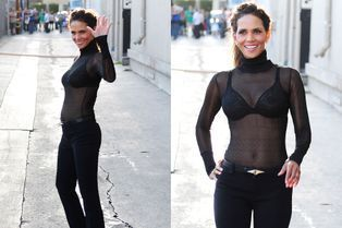 À Los Angeles, Halle Berry joue la transparence