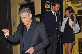 Amal et George Clooney, les romantiques