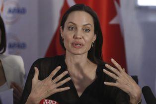 Angelina Jolie en Turquie pour les réfugiés
