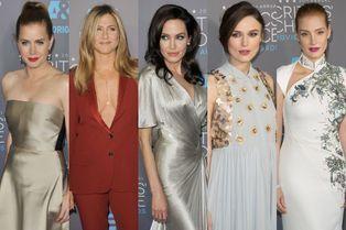 Pluie d'actrices sur le tapis rouge
