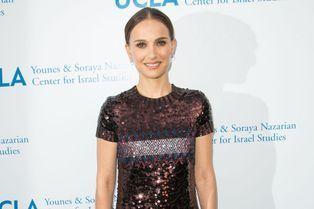 Natalie Portman, pétillante pour un nouveau gala