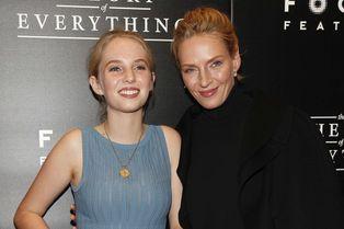 Uma Thurman: tapis rouge complice avec sa fille