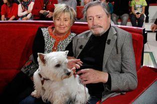 Victor Lanoux, jamais sans sa femme et sa chienne