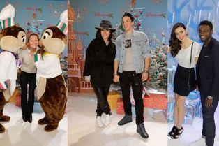 Alizée et Grégoire main dans la main à Disneyland