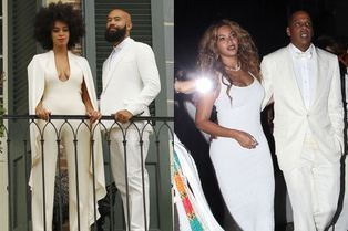 Beyoncé et Jay Z, radieux pour célébrer le mariage de Solange