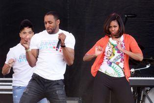 Michelle Obama se déhanche pour Pâques