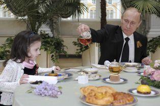 Vladimir Poutine, les photos au service de son image