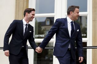 Au Luxembourg, un mariage gay au sommet