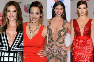Défilé de décolletés aux Latin Grammy Awards