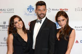 Eva Longoria, Ricky Martin et Victoria Beckham. L'amitié engagée