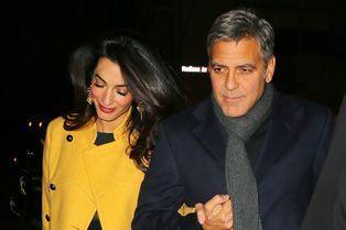 Amal et George Clooney réunis dans la Grosse Pomme