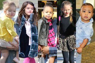 Cinq enfants stars plus fashion que leur mère