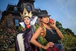 Les people inaugurent Halloween à Disney