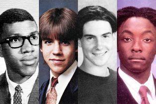 25 célèbres chanteurs à l'époque de l'enfance