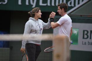 """Amélie Mauresmo """"sait écouter"""", selon Andy Murray"""