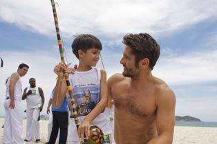 """Bixente Lizarazu au Brésil pour """"Frères de Sport - Free Fight"""""""
