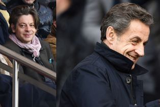 Nicolas Sarkozy et Benjamin Biolay au Parc ce samedi