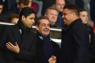 Nicolas Sarkozy et Ronaldo aux premières loges