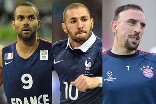 Les 10 sportifs français les mieux payés en 2014