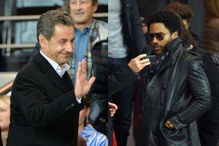 Nicolas Sarkozy et Lenny Kravitz s'invitent au Parc des Princes