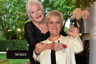 La Légion d'Honneur pour Mimie Mathy
