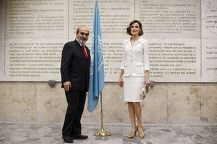 Letizia, nouvelle ambassadrice de charme des Nations Unies