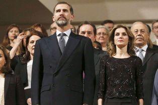 Letizia rend hommage aux victimes du terrorisme