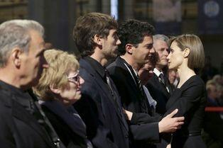 Germanwings : Letizia communie avec les victimes