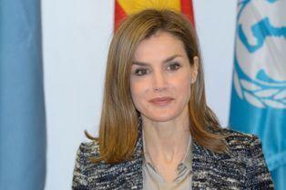 Letizia, une royale présidente pour les enfants du monde