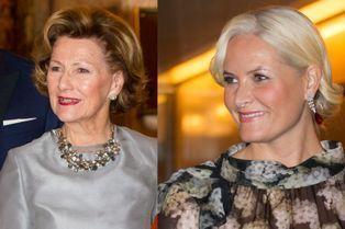 Mette-Marit et Sonja, les robes du soir sont de sortie