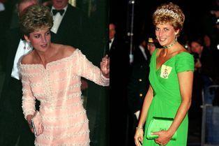 Cinq robes de Lady Diana aux enchères