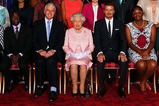 Quand la reine rencontre l'ex-roi du foot