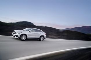 Mercedes-AMG GLE Coupé : étoile brutale