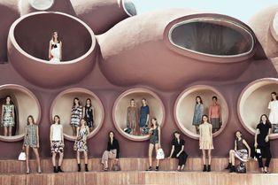 Dans les coulisses du défilé Dior Croisière
