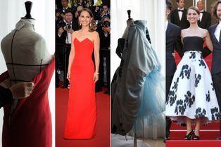 Dior dévoile le dessous des robes de Natalie Portman