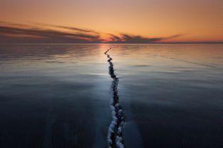 La métamorphose du lac Baïkal