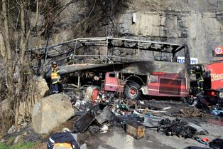 Terrible accident de car à l'Alpe d'Huez