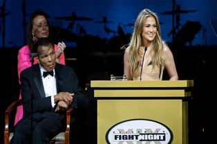 "Mohammed Ali. Sa ""Fight Night"" avec Jennifer Lopez"