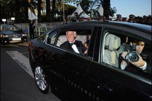 Jean-Paul Belmondo au Festival de Cannes