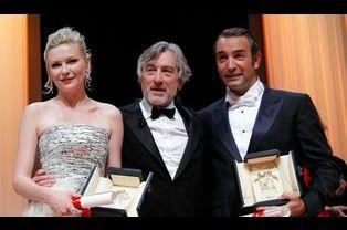 Robert de Niro, Kirsten Dunst et Jean Dujardin