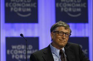 N°7: le fondateur de Microsoft Bill Gates